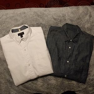 Urban outfitters CPO button up long sleeve shirts